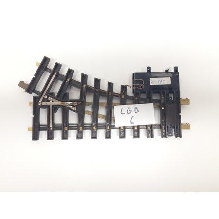 LGB Elektrische Weiche links, R1, 30° digital (gebraucht)
