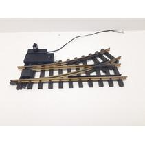 Elektrische Weiche links, R1, 30° digital mit Weichenlaterne (gebraucht)