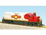 "USA TRAINS GP 38-2 Christmas ""Santa Express Railway"""