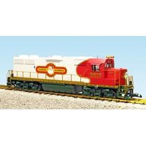 "GP 38-2 Christmas ""Santa Express Railway"""