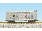 """USA TRAINS Military Series """"Support Our Troops"""" Car"""