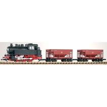 G Start-Set Güterzug BR 80 + 2 Schüttgutwagen