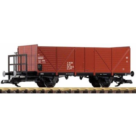 PIKO G Offener Güterwagen mit Bremserbühne