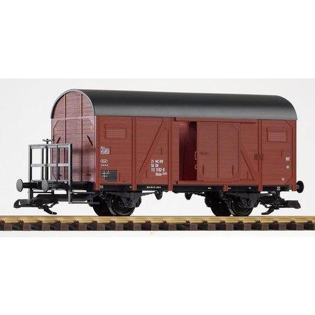 PIKO G Gedeckter Güterwagen mit Bremserbühne