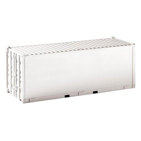 PIKO G Container 20' unbedruckt, weiß, glatt