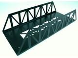 Train Line Brücke Stahl, gerade 45cm