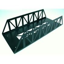 Brücke Stahl, gerade 45cm