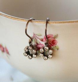 Carré Jewellery Zilveren oorbellen met Zirkoon