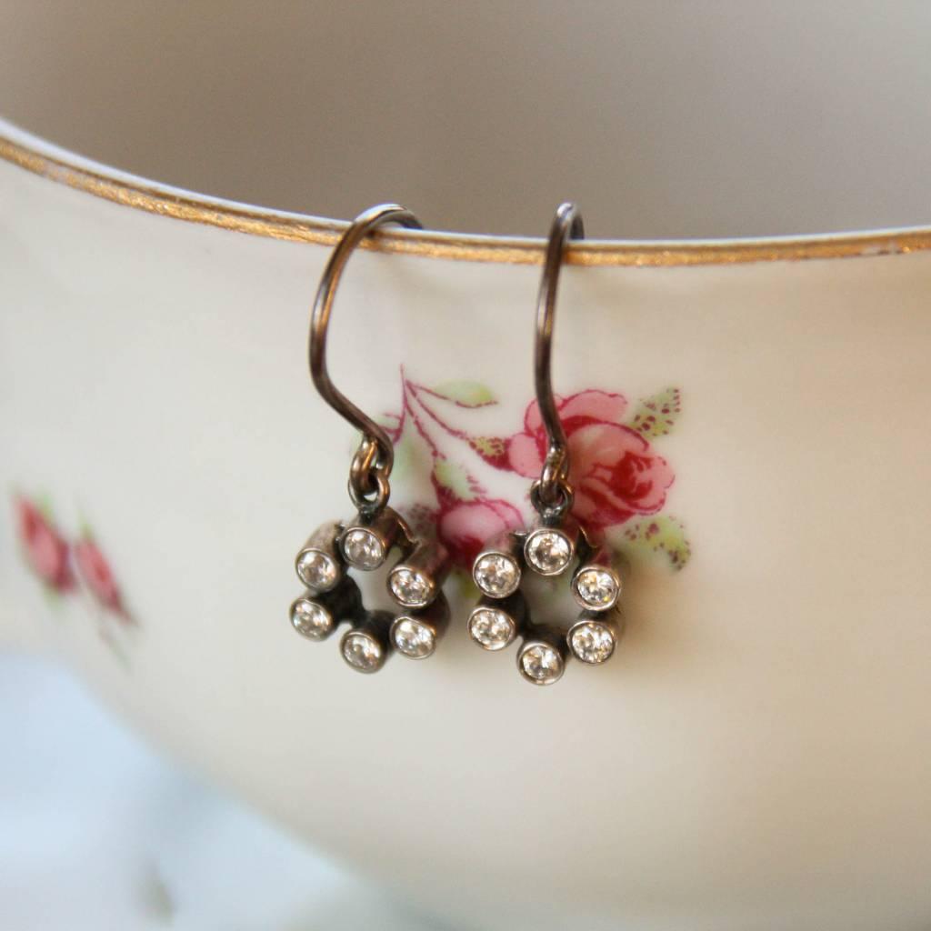 Carré Jewellery Zilveren oorbellen van Carré met Zirkoon