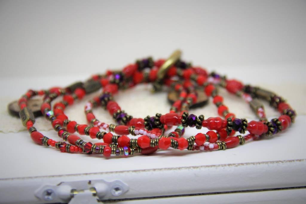 Konplott Set rode armbanden