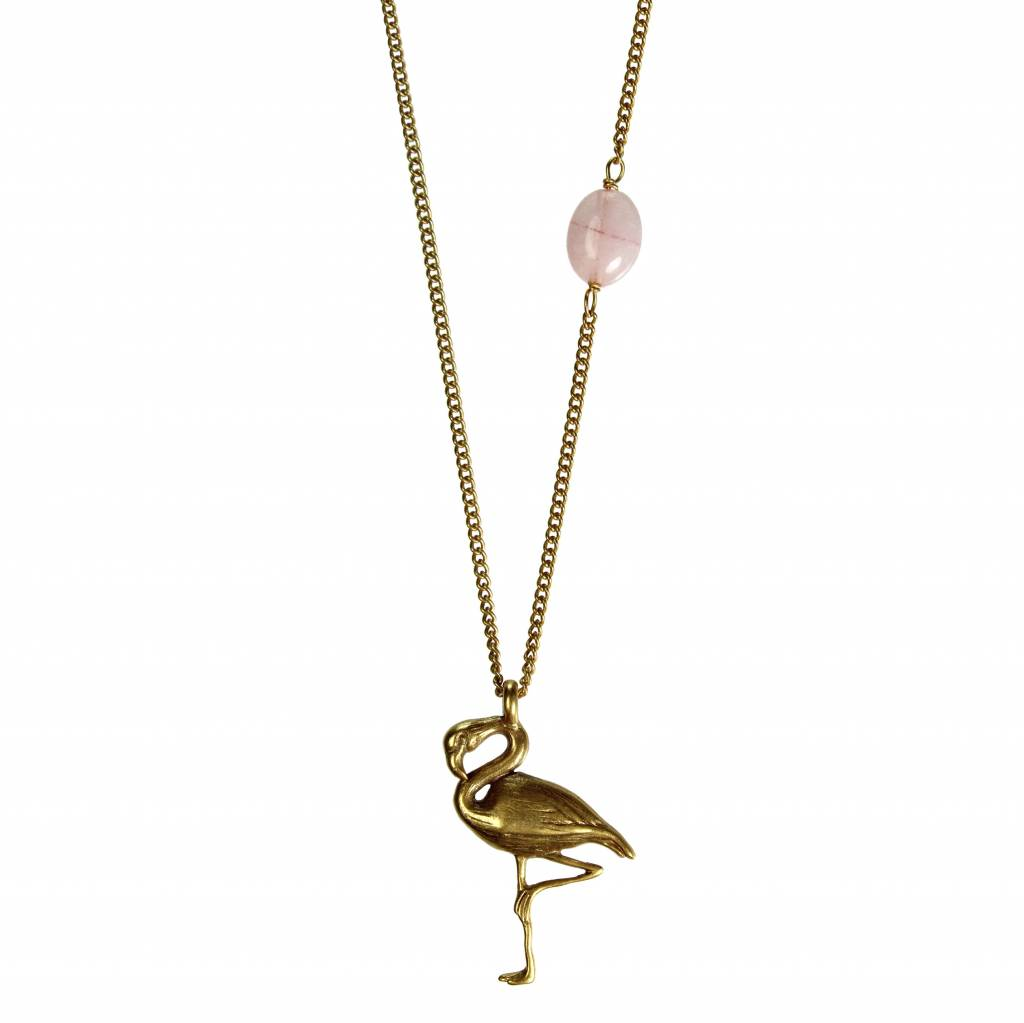 Hultquist Long Hultquist necklace with pelican pendant