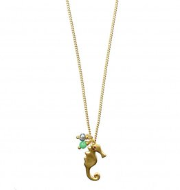 Hultquist Short necklace with seahorse