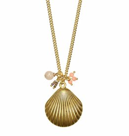 Hultquist Long seashell necklace