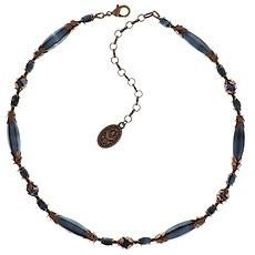 Konplott Blauwe ketting  van de Pineapple collectie