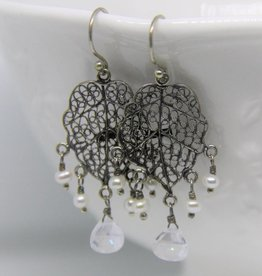 Yvone Christa Silver Yvone Christa earrings