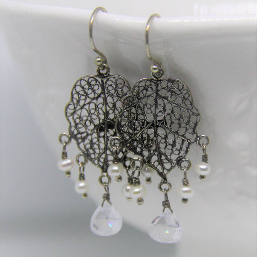 Yvone Christa Earrings collection Hortensia
