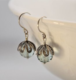 Yvone Christa Lightblue Aqua Lemuria earrings