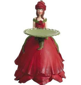 Meander Flower girl red rose
