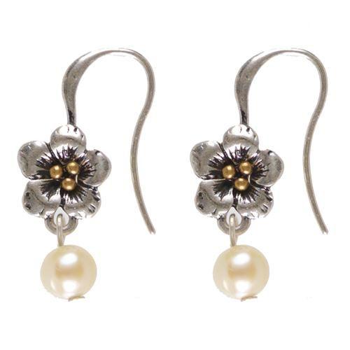 Hultquist Hultquist flower earrings