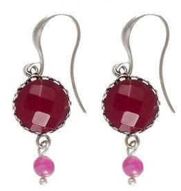 Hultquist Pink earrings