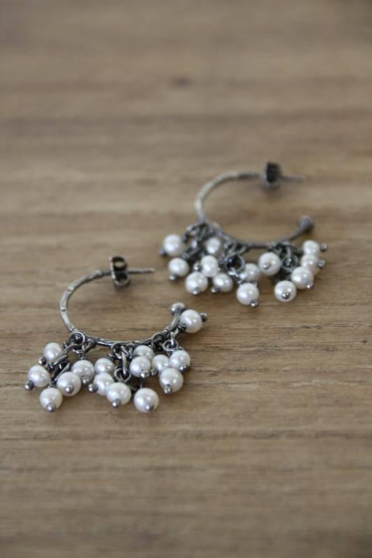 Carré Jewellery Zilveren pareloorbellen