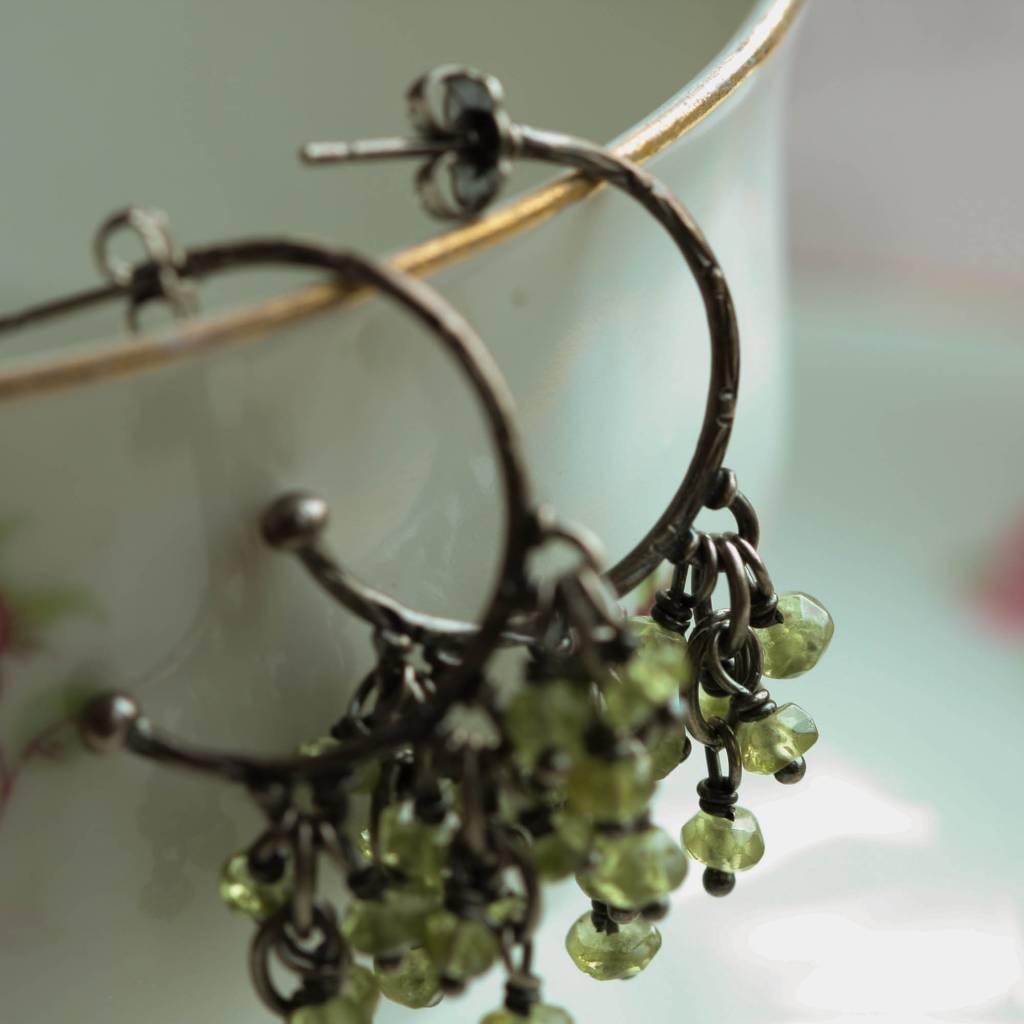 Carré Jewellery Peridot earrings