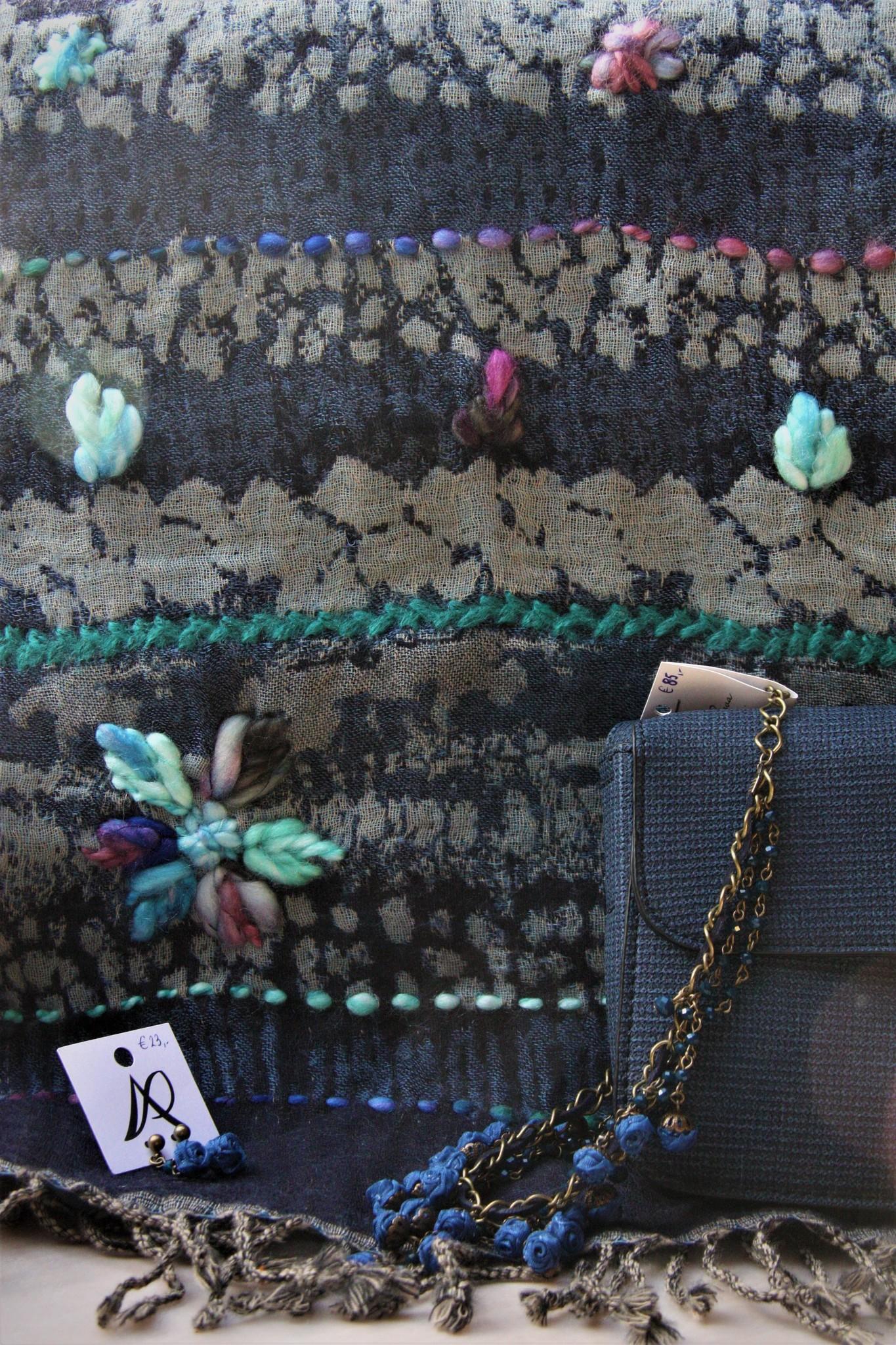 Wollen sjaal