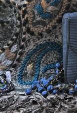 Ana Popova Blauwe ketting Odette