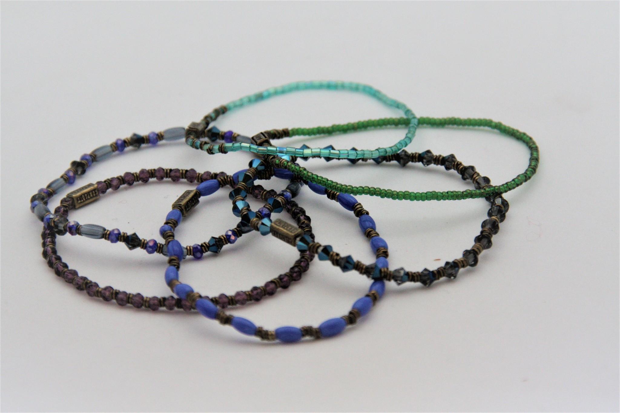Konplott Set blauwe armbanden van Konplott