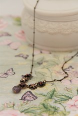 Eric & Lydie Delicate necklace  withflowers