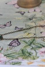 Eric & Lydie Fijne ketting met bloemen van Eric & Lydie