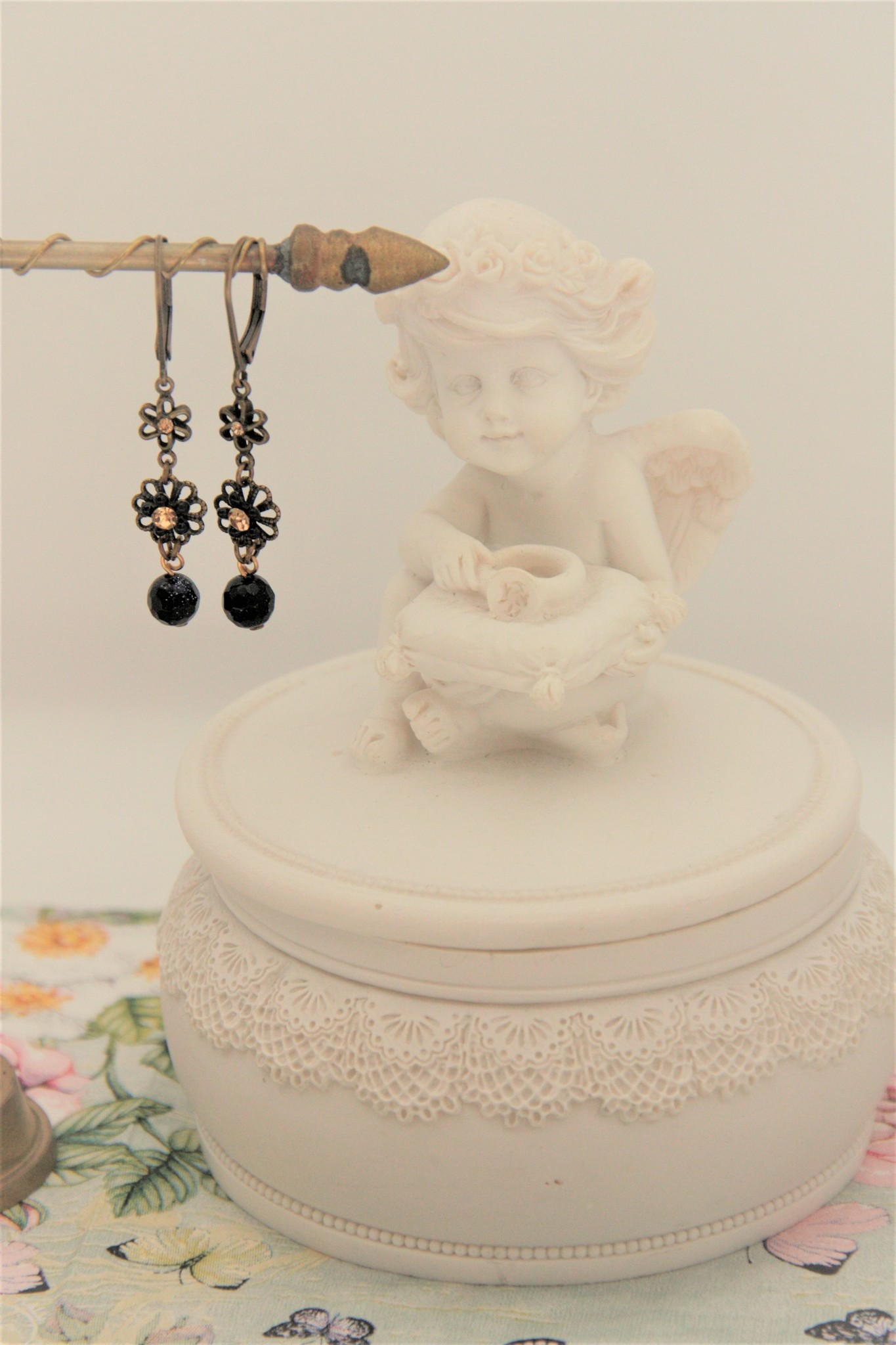 Eric & Lydie Flower earrings by Eric & Lydie