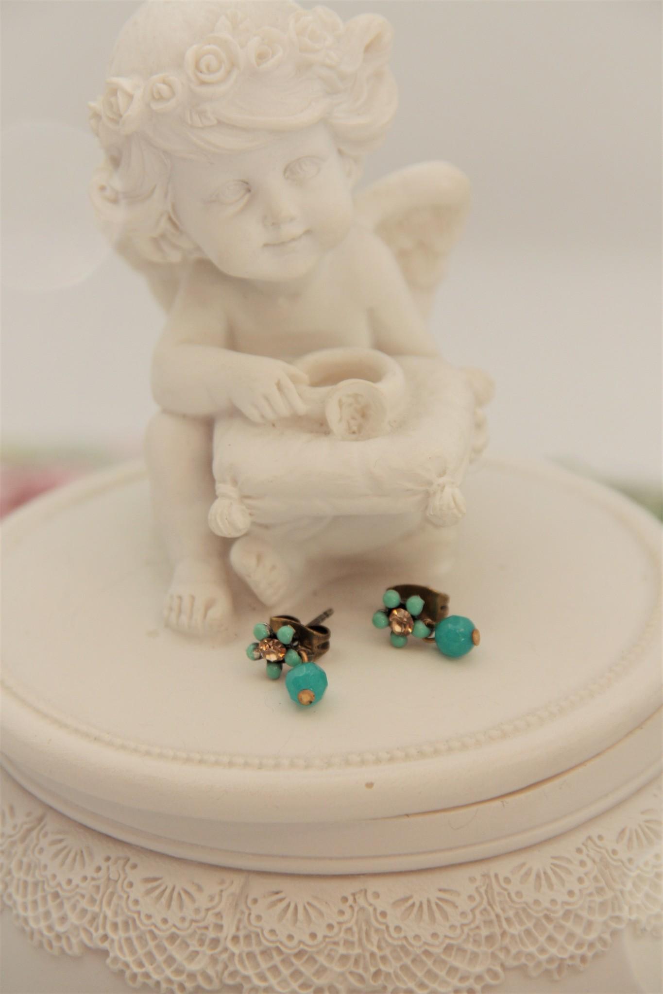 Eric & Lydie Bronze post earrings