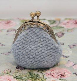 La Petite Rooze Kleine gehaakte portemonnee