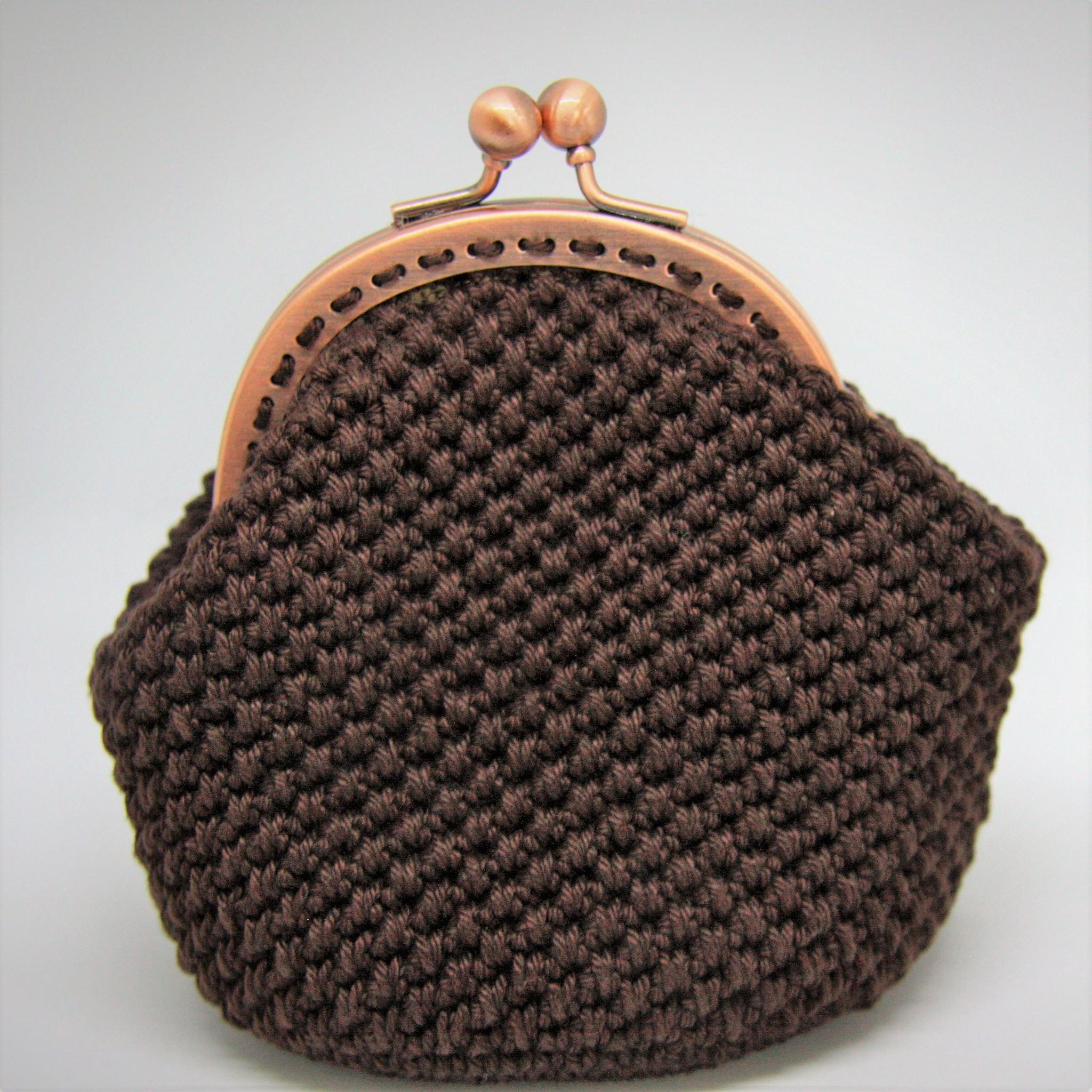 La Petite Rooze Gehaakte portemonnee