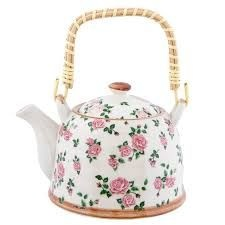 Clayre & Eef Teapot with roses