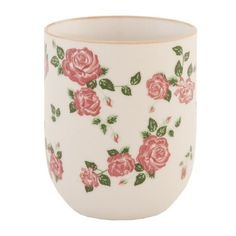Clayre & Eef Mug with roses