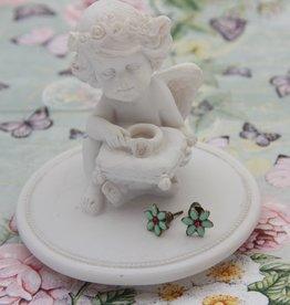 Vincent Filac Flower earrings