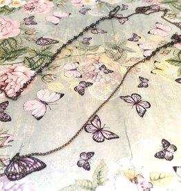 Carré Jewellery Collana lunga argenta