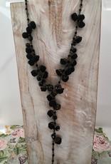 Ana Popova Black necklace Eveline