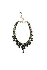 Ana Popova Black necklace Odette