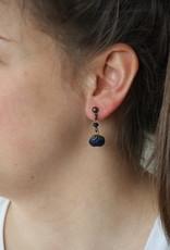 Ana Popova Blue April earrings