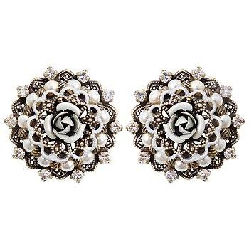 Konplott Petit four dentelle earrings