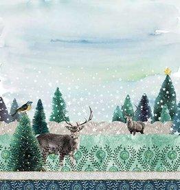 Ambiente Napkins with reindeer