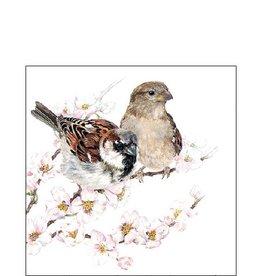 Ambiente Small sparrow napkins