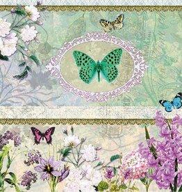 Ambiente Servetten met vlinders