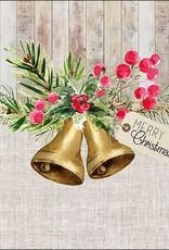 Ambiente Kerst servetten met klokken