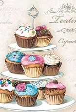 Ambiente Cupcake napkins