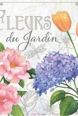 Ambiente Servettel met bloemen