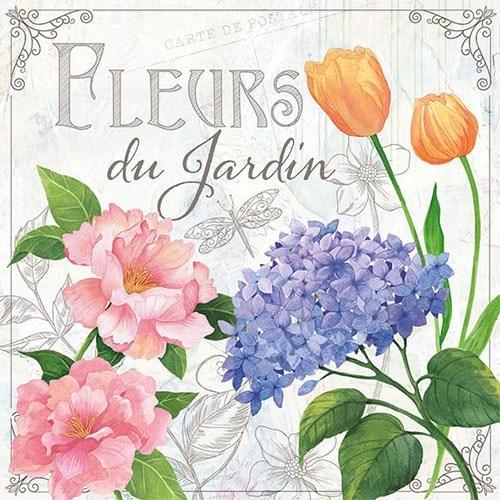 Ambiente Flower napkins